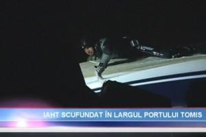 Actiune de recuperare yacht in rada Portului Tomis Constanta - Nemo Pro Diving 002