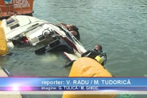 Actiune de recuperare yacht in rada Portului Tomis Constanta - Nemo Pro Diving 011