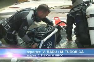 Actiune de recuperare yacht in rada Portului Tomis Constanta - Nemo Pro Diving 014