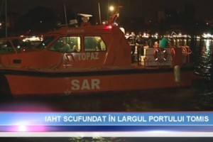 Actiune de recuperare yacht in rada Portului Tomis Constanta - Nemo Pro Diving 020