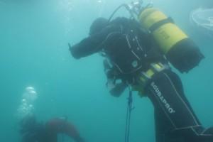 Lucrari mentenanta balize mai 2014 Constanta - Nemo Pro Diving 001