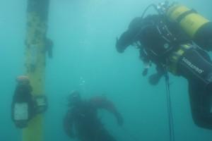 Lucrari mentenanta balize mai 2014 Constanta - Nemo Pro Diving 002