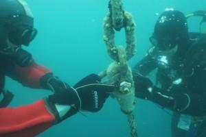 Lucrari mentenanta balize mai 2014 Constanta - Nemo Pro Diving 004