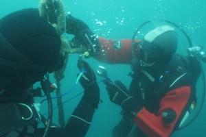 Lucrari mentenanta balize mai 2014 Constanta - Nemo Pro Diving 005