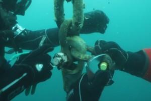 Lucrari mentenanta balize mai 2014 Constanta - Nemo Pro Diving 006