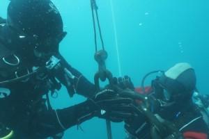Lucrari mentenanta balize mai 2014 Constanta - Nemo Pro Diving 202