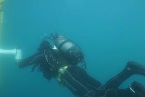 Lucrari mentenanta balize mai 2014 Constanta - Nemo Pro Diving 204