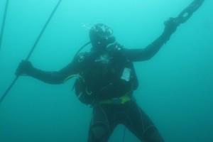 Lucrari mentenanta balize mai 2014 Constanta - Nemo Pro Diving 208