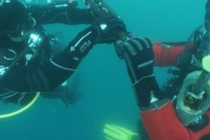 Lucrari mentenanta balize mai 2014 Constanta - Nemo Pro Diving 209