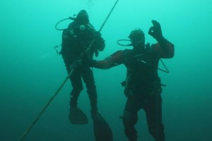 Lucrari mentenanta balize mai 2014 Constanta - Nemo Pro Diving 211