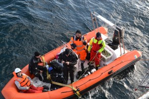 Mentenanta balize decembrie 2014 Constanta - Nemo Pro Diving 007