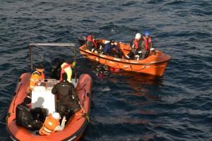 Mentenanta balize decembrie 2014 Constanta - Nemo Pro Diving 010