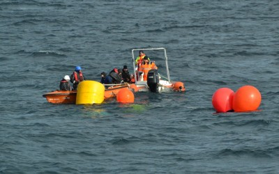 Mentenanta balize decembrie 2014 Constanta realizata de Nemo Pro Diving