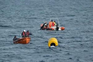 Mentenanta balize decembrie 2014 Constanta - Nemo Pro Diving 012