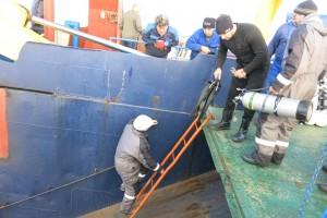 Mentenanta balize decembrie 2014 Constanta - Nemo Pro Diving 014