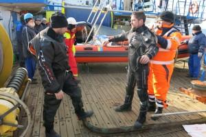 Mentenanta balize decembrie 2014 Constanta - Nemo Pro Diving 022