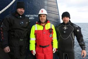 Mentenanta balize decembrie 2014 Constanta - Nemo Pro Diving 025