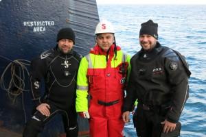 Mentenanta balize decembrie 2014 Constanta - Nemo Pro Diving 026