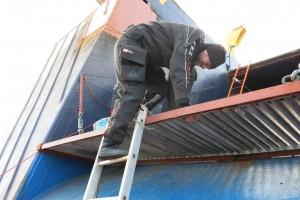 Mentenanta balize decembrie 2014 Constanta - Nemo Pro Diving 028