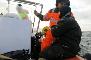 Mentenanta balize decembrie 2014 Constanta - Nemo Pro Diving 037
