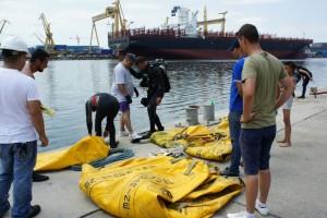 Montare baliza Mangalia 2013 - Nemo Pro Diving 001