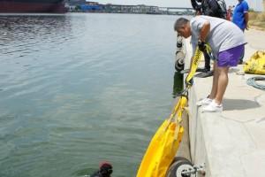Montare baliza Mangalia 2013 - Nemo Pro Diving 005