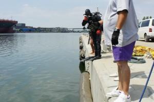 Montare baliza Mangalia 2013 - Nemo Pro Diving 010