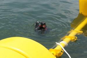 Montare baliza Mangalia 2013 - Nemo Pro Diving 016