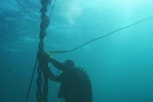Montare balize INCD GeoEcoMar Constanta - Nemo Pro Diving 001