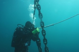 Montare balize INCD GeoEcoMar Constanta - Nemo Pro Diving 008
