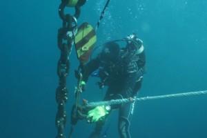 Montare balize INCD GeoEcoMar Constanta - Nemo Pro Diving 010