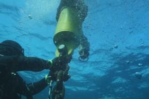 Montare balize INCD GeoEcoMar Constanta - Nemo Pro Diving 011