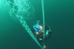 Montare balize INCD GeoEcoMar Constanta - Nemo Pro Diving 012
