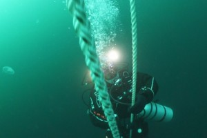 Montare balize INCD GeoEcoMar Constanta - Nemo Pro Diving 013