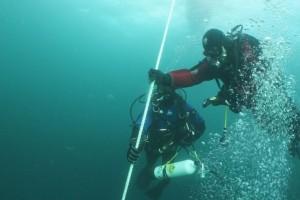 Montare balize INCD GeoEcoMar Constanta - Nemo Pro Diving 014