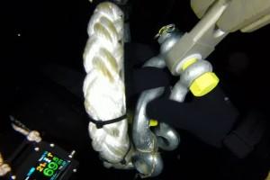 Montare senzor balize cu nava Mare Nigrum in Marea Neagra - Nemo Pro Diving 017