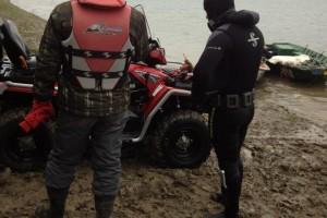 Recuperare ambarcatiune si ATV - Turnu Magurele - Nemo Pro Diving 004