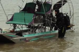 Recuperare ambarcatiune si ATV - Turnu Magurele - Nemo Pro Diving 011