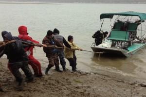 Recuperare ambarcatiune si ATV - Turnu Magurele - Nemo Pro Diving 012