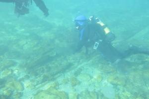 Scufundare la corabie in Eforie Sud decembrie 2014 - Nemo Diving Center 007