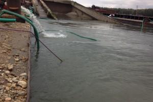 ramfulare barja pe canalul Dunare-Marea Neagra la Cochirleni - Nemo Pro Diving 004