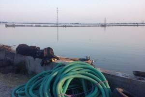 ramfulare barja pe canalul Dunare-Marea Neagra la Cochirleni - Nemo Pro Diving 008