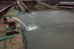 ramfulare barja pe canalul Dunare-Marea Neagra la Cochirleni - Nemo Pro Diving 204