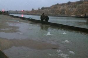 ramfulare barja pe canalul Dunare-Marea Neagra la Ovidiu - Nemo Pro Diving 008