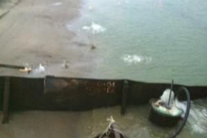 ramfulare barja pe canalul Dunare-Marea Neagra la Ovidiu - Nemo Pro Diving 018