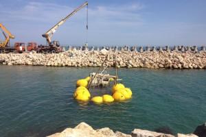 recuperare pescador scufundat Costinesti 2013 - Nemo Pro Diving 001