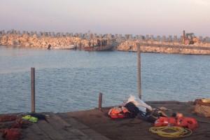 recuperare pescador scufundat Costinesti 2013 - Nemo Pro Diving 003