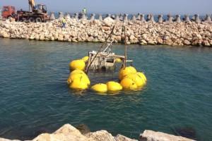 recuperare pescador scufundat Costinesti 2013 - Nemo Pro Diving 004
