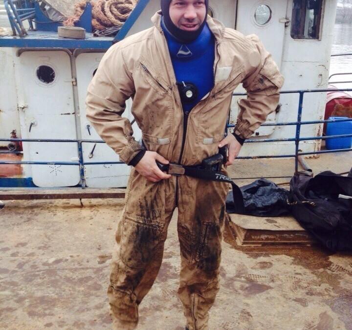 Taiere subacvatica barja la Cochirleni, judetul Constanta realizata de Nemo Pro Diving