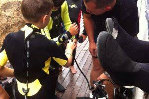 Ziua Copilului sarbatorita la Nemo Diving Center Eforie Nord 1